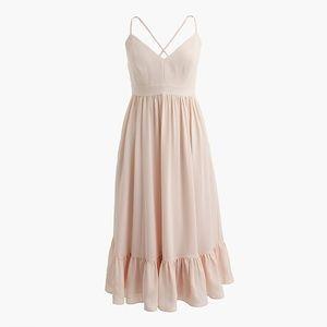 Ruffle Hem Spaghetti Strap Dress (NWT)